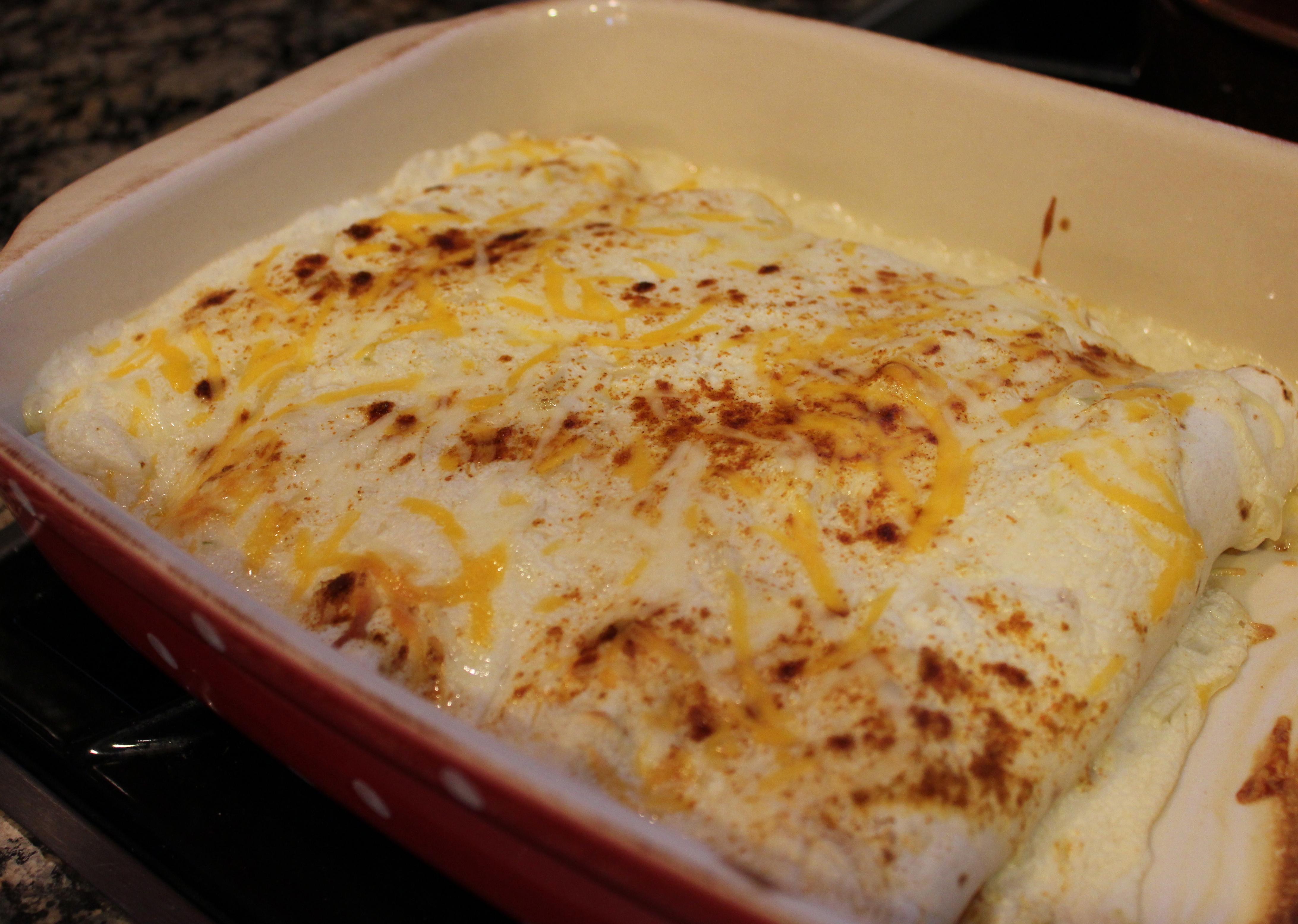 Chicken Enchiladas – Dallas Duo Bakes