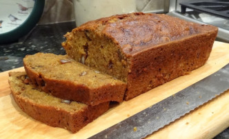 Eddie's Autumn Pumpkin Bread