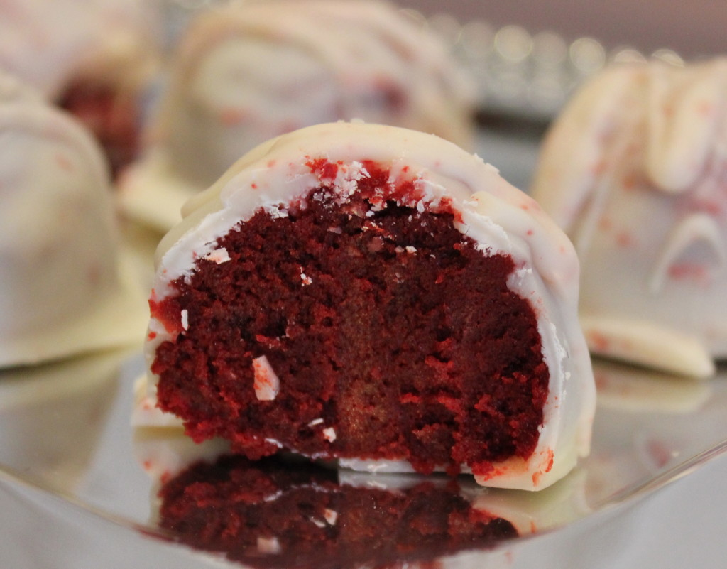 Red Velvet Cake Balls Houston