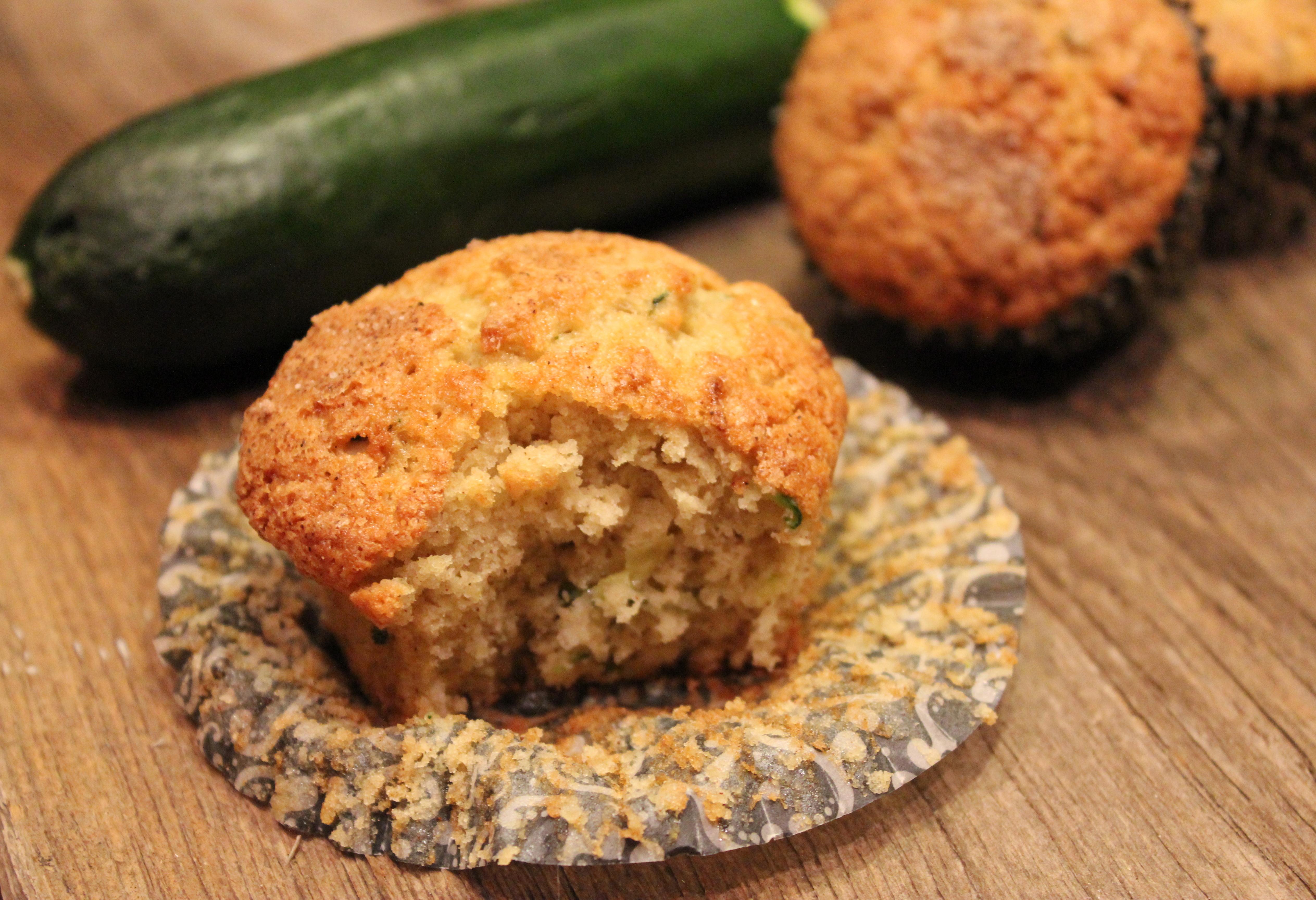 Zucchini Muffins – Dallas Duo Bakes