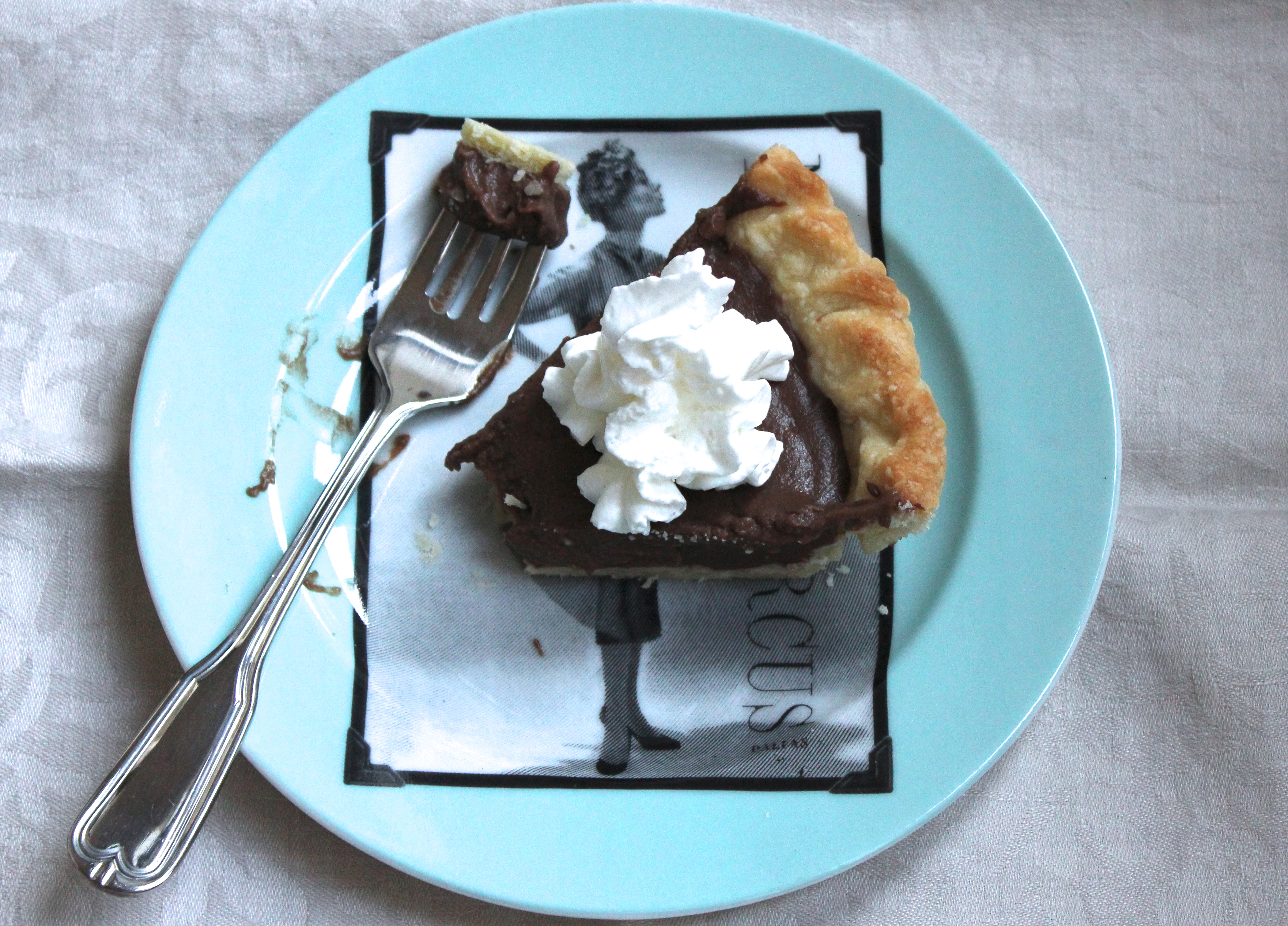 Foolproof Vodka Pie Crust and Dad\'s favorite Chocolate Ice Box Pie ...