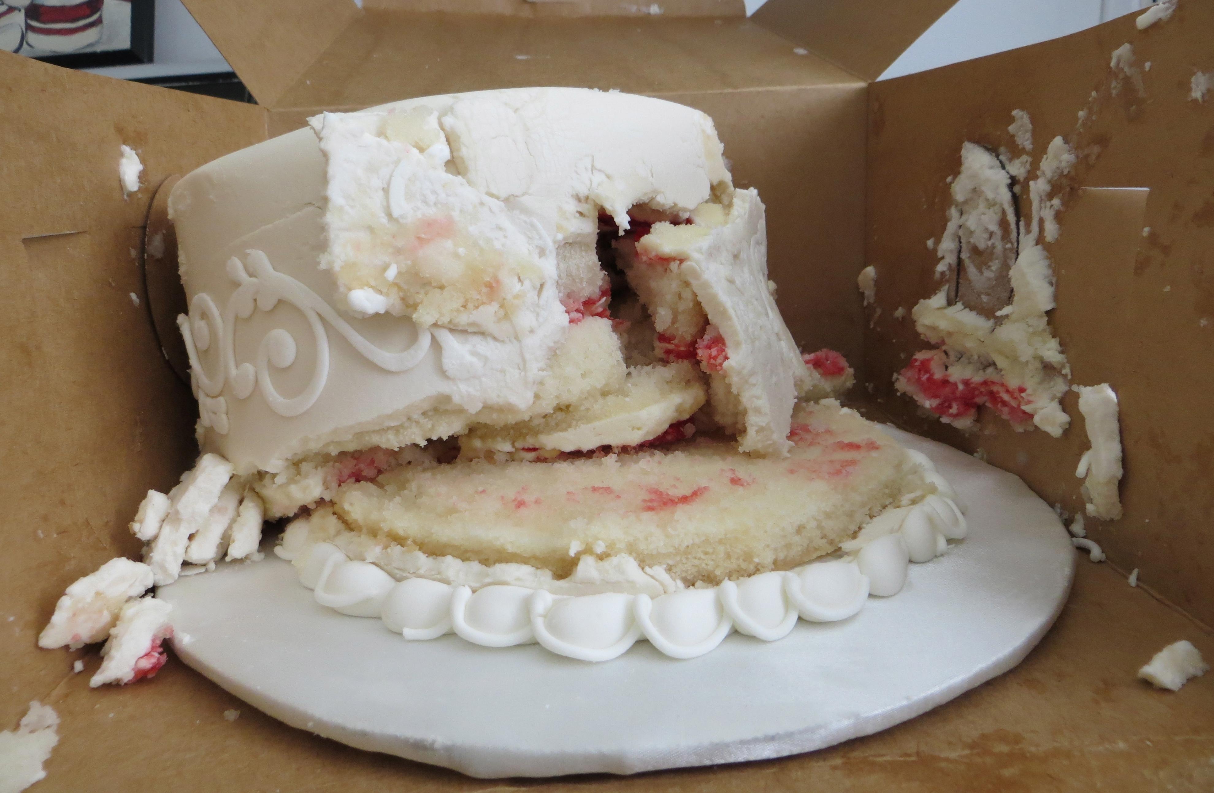 ruined cake