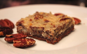 Pecan Coconut Bars