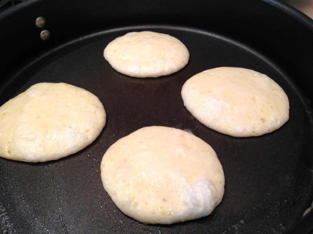 Neil's pancake batter