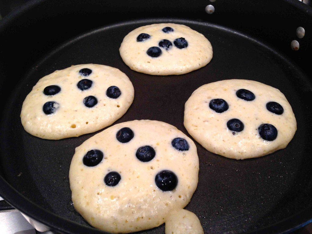 Neil's blueberry pancake batter