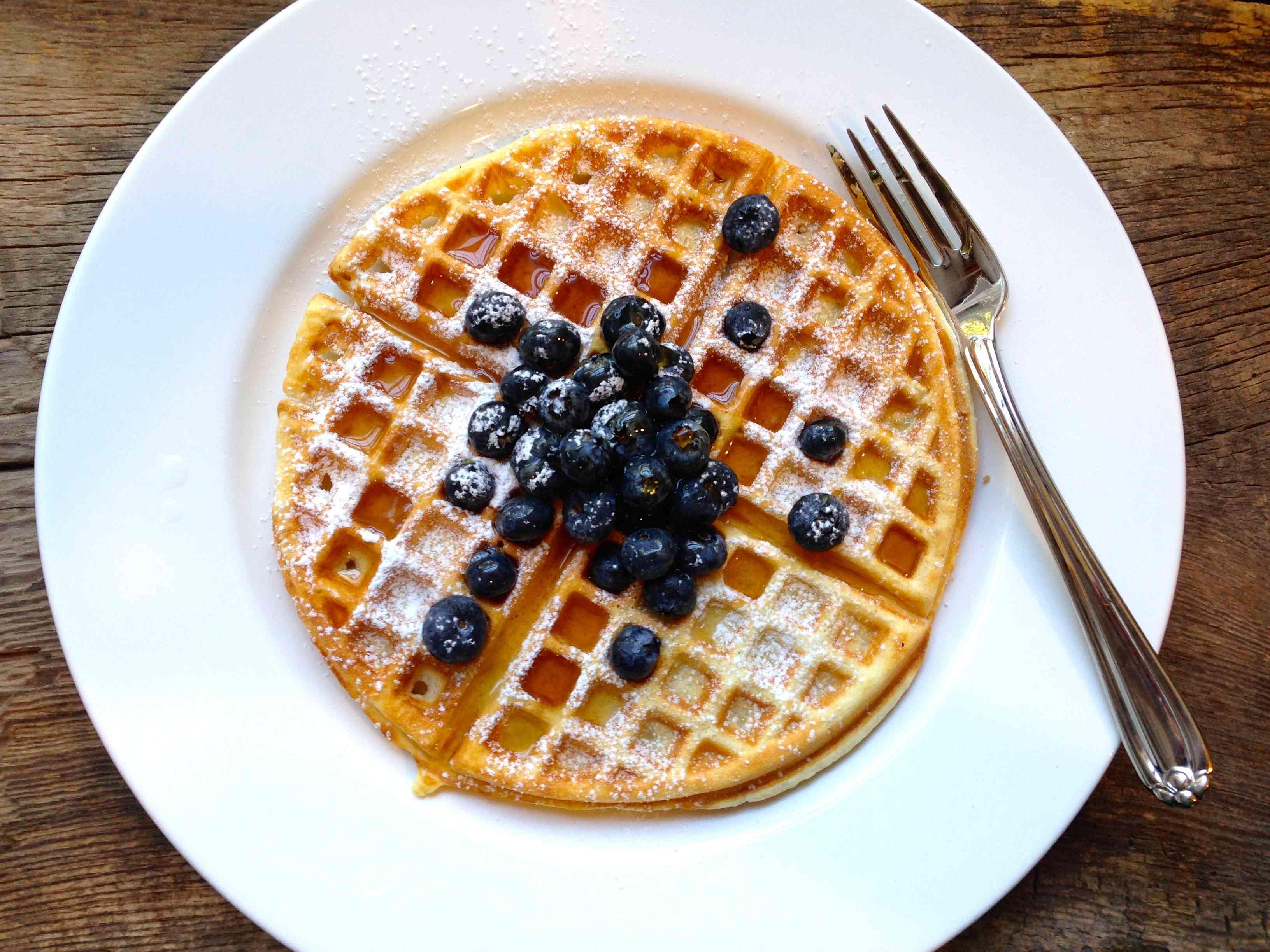 Classic Waffles – Dallas Duo Bakes