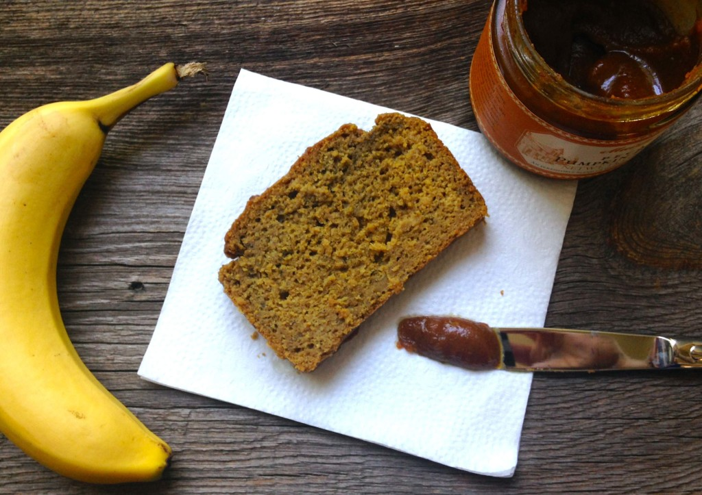 pumpkin banilla bread