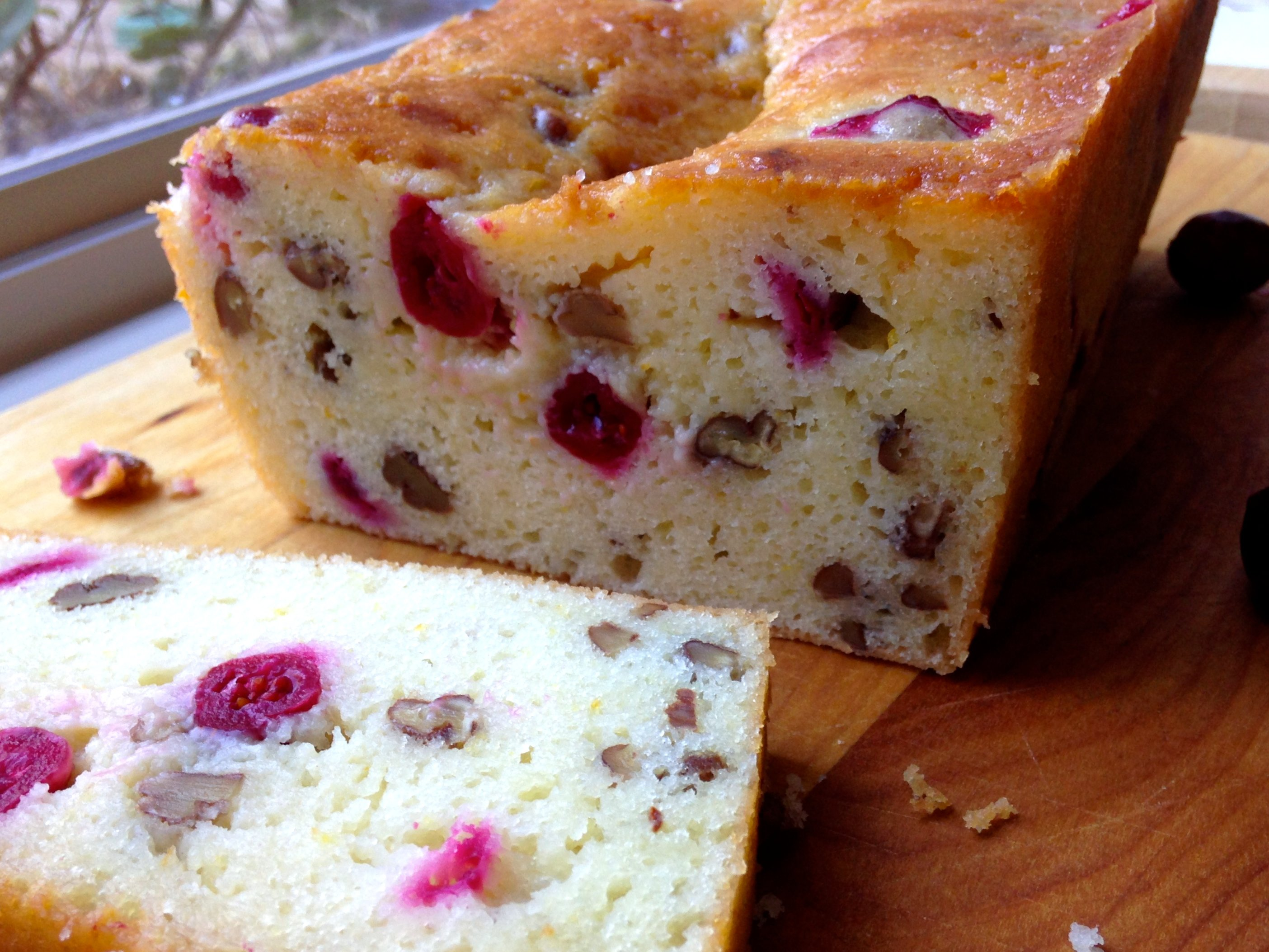 Orange-Cranberry Yogurt Bread