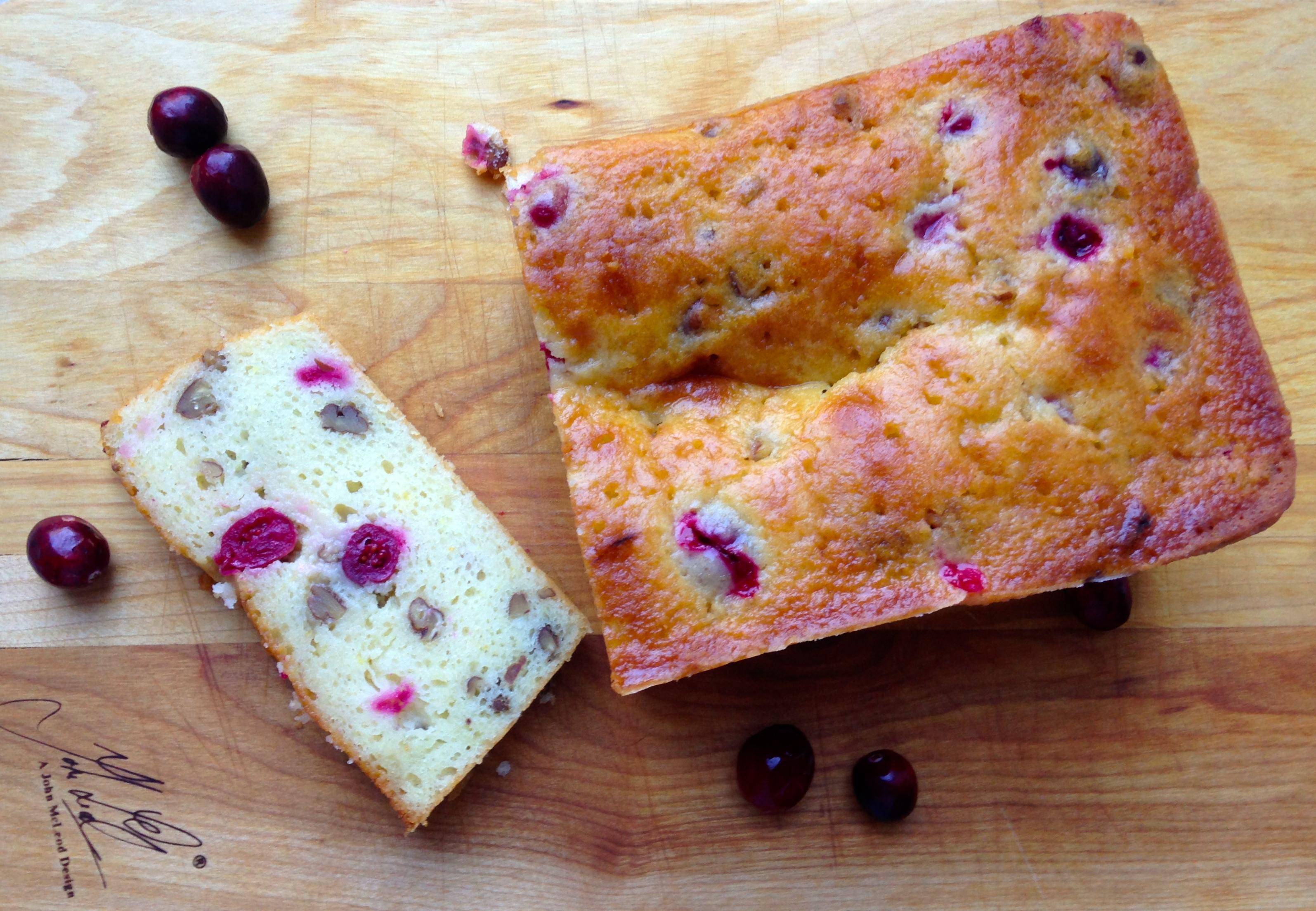 Orange-Cranberry Yoghurt Bread – Dallas Duo Bakes