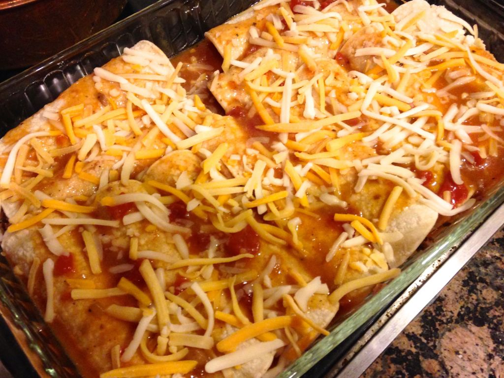 slow cooker beef for enchiladas