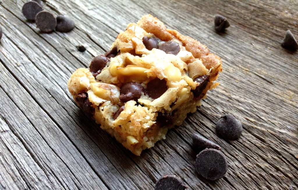 Easy blondies