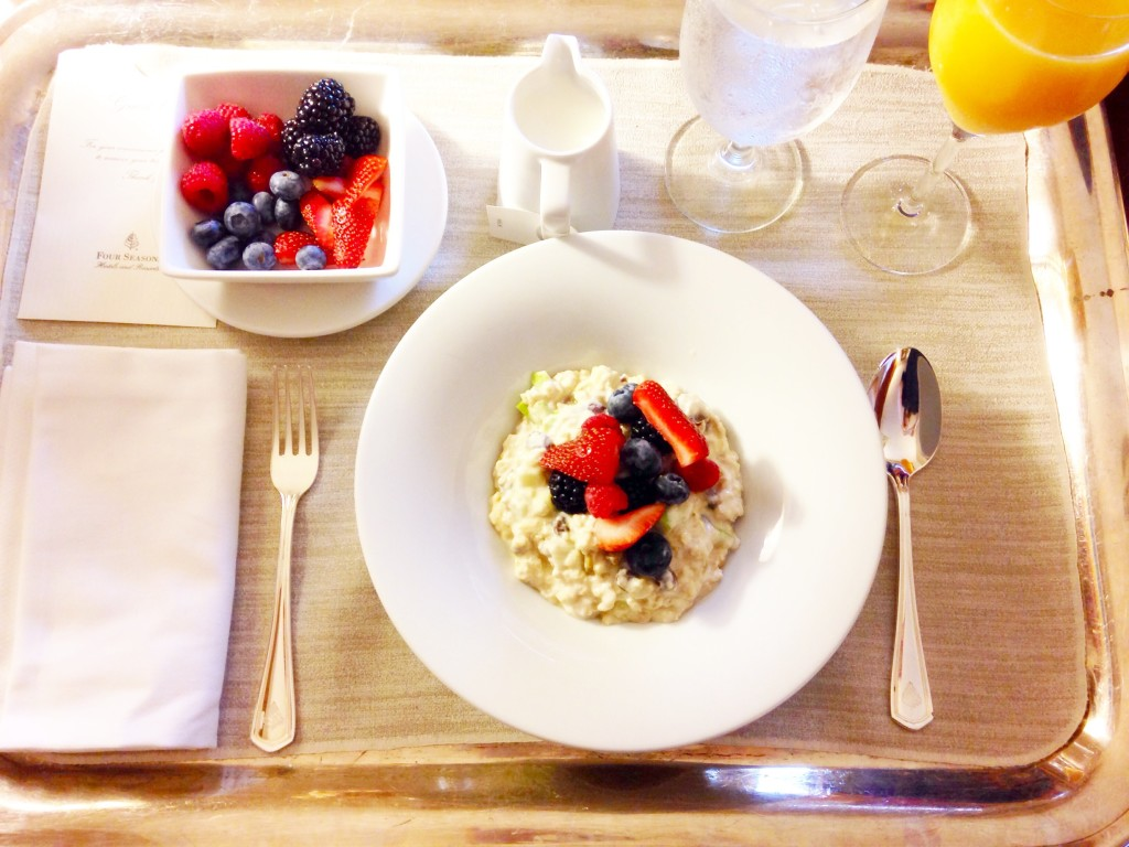 Four Seasons Bircher Muesli