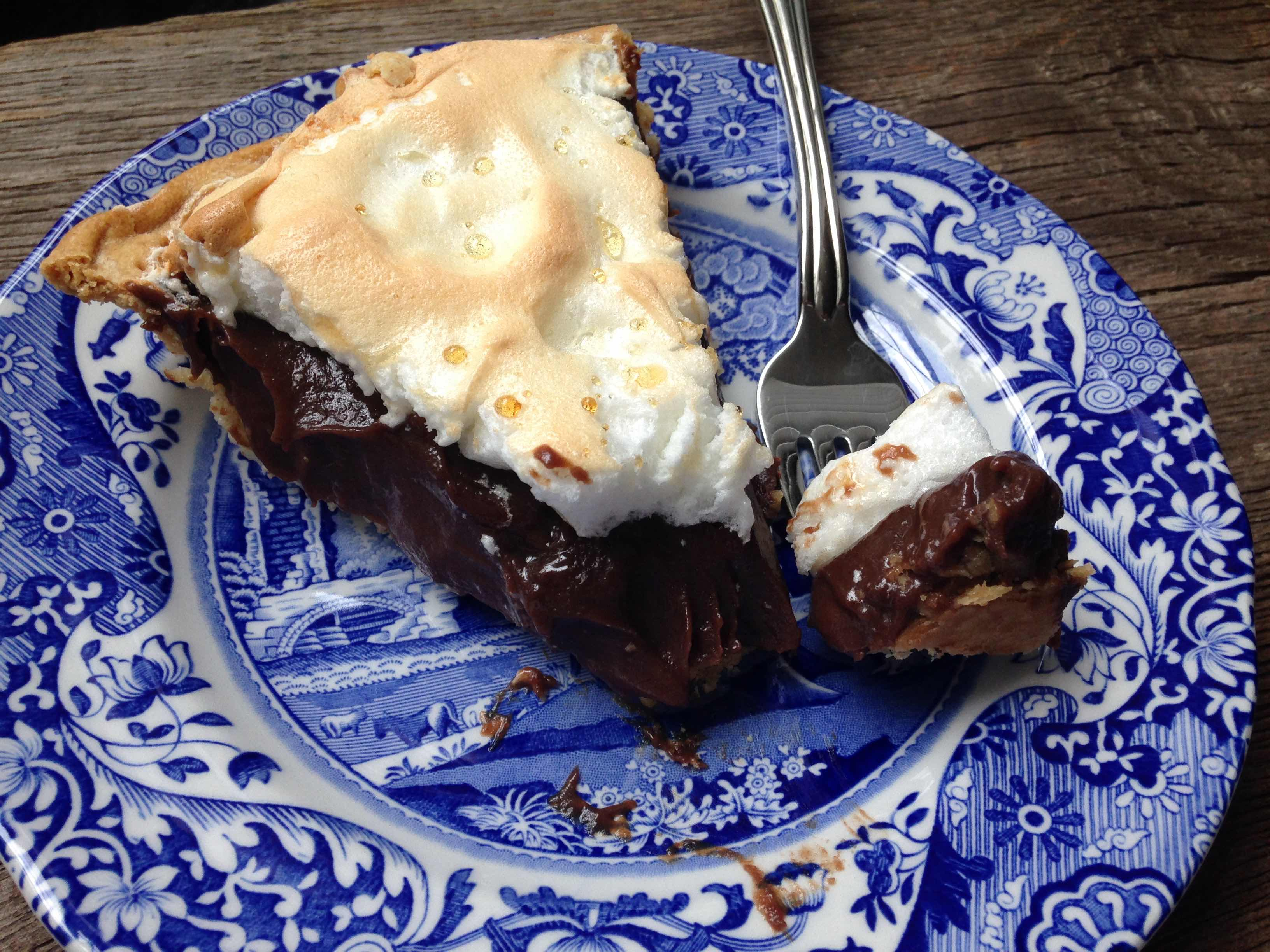 Mallory's Chocolate Meringue Pie – Dallas Duo Bakes