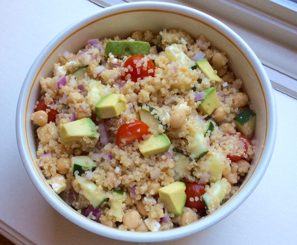 California Quinoa Greek Salad