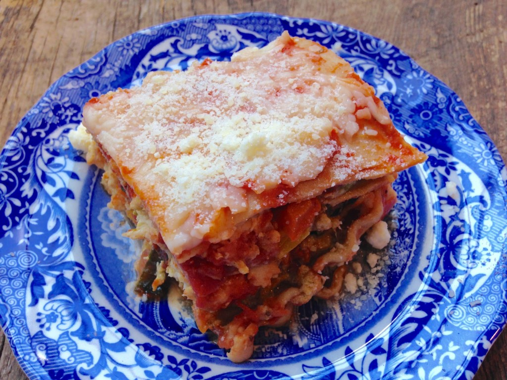 healthy turkey lasagna