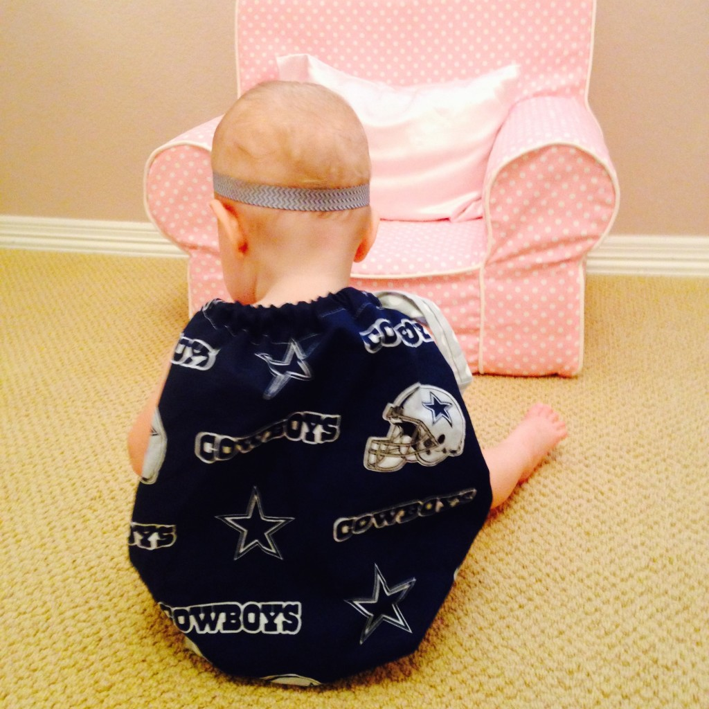 Dallas Cowboys pillowcase dress