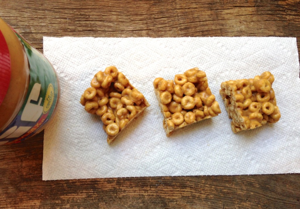 peanut butter cheerio bars