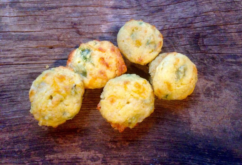 jalapeno cheddar corn muffins